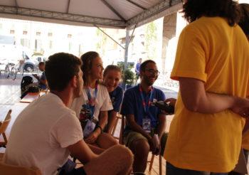 Accoglienza Volontari – Sofia, Francesco, Francesca e Patrick