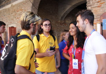 Accoglienza Volontari – Valentina e Francesco, Referenti