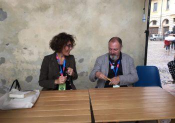 Carlo Lucarelli e Benedetta Tobagi – scrittori