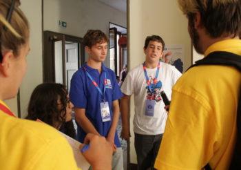 Read On Station – I volontari Giovanni, Francesco e Martina