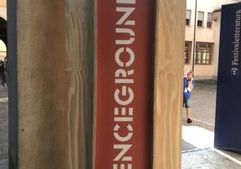 Scienceground –  I volontari Chiara, Andrea ed Elena
